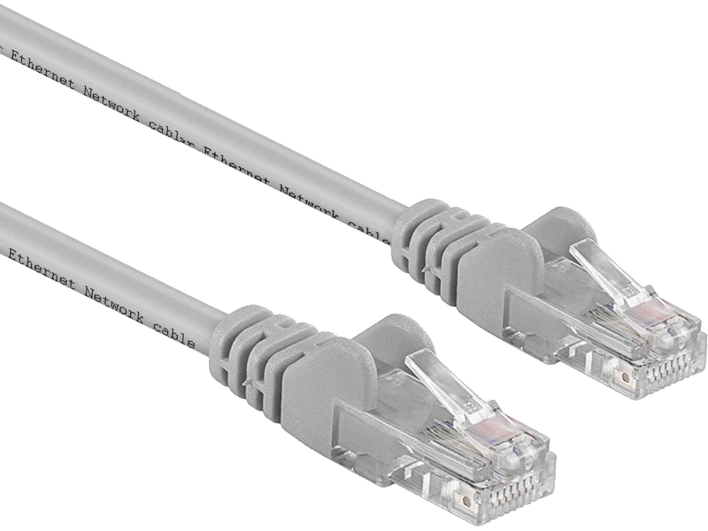 Cavo Patch ethernet cat.5E - 0.5m - Grigio